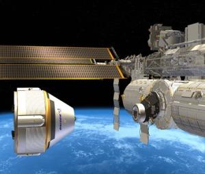 Une fois le CST-100 terminé, voilà à quoi il devrait ressembler en approche de l'ISS.